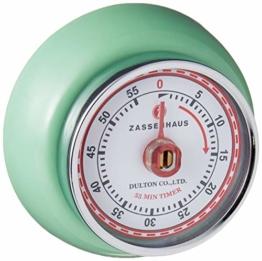 Zassenhaus M072365 Speed Küchentimer, Edelstahl - 1