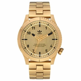 Adidas Herren Analog Quarz Smart Watch Armbanduhr mit Edelstahl Armband Z03-510-00 - 1