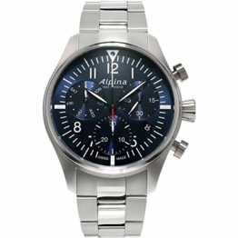 Alpina Geneve Startimer Pilot Quartz Chronograph AL-371NN4S6B Herrenchronograph - 1