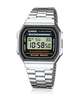 Casio Collection Unisex-Armbanduhr A168WA 1YES - 1