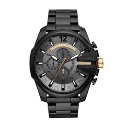 Diesel Herren Chronograph Quarz Uhr mit Edelstahl Armband DZ4479 - 1