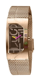 Esprit Damen Analog Quarz Uhr mit Edelstahl Armband ES1L046M0065 - 1