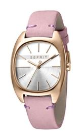 Esprit Damen Analog Quarz Uhr mit Leder Armband ES1L038L0065 - 1