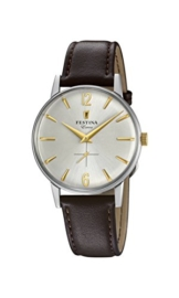 Festina Herren Analog Quarz Uhr mit Leder Armband F20248/2 - 1