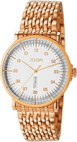 Joop! Herren-Armbanduhr Executive Analog Quarz Edelstahl JP100821F09 - 1
