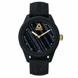 REEBOK Damen Analog Quarz Uhr mit Silikon Armband RD-SPR-L1-PBIB-B2 - 1