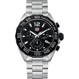 TAG Heuer Formula-1 Herren-Armbanduhr 43mm Schweizer Quarz CAZ1010.BA0842 - 1