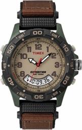 Timex Herren Chronograph Quarz Uhr mit Nylon Armband T45181 - 1