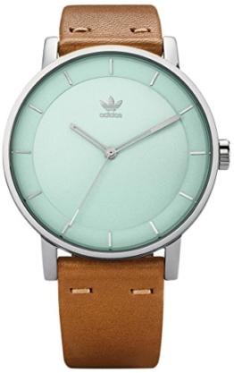 Adidas Damen Analog Quarz Uhr mit Leder Armband Z08-2922-00 - 1