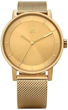 Adidas Herren Analog Quarz Uhr mit Edelstahl Armband Z04-502-00 - 1
