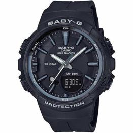 BABY-G Damen Analog-Digital Quarz Uhr mit Harz Armband BGS-100SC-1AER - 1