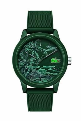Lacoste Herren Analog Quarz Armbanduhr mit Silikonarmband 2011023 - 1