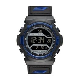 Skechers Men's SR1032 Digital Display Quartz Black Watch - 1